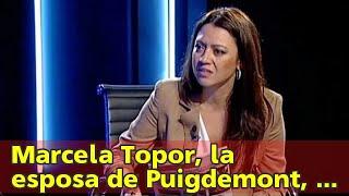 Marcela Topor, la esposa de Puigdemont, en la cuerda floja | cronica