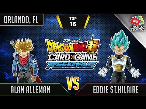 Dragon Ball Super Card Game Gameplay [DBS TCG] Orlando Regional Round Top 16