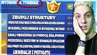 ⭐ *ZNAMY WYZWANIA CZWARTEGO TYGODNIA*! | Fortnite - Battle Royale