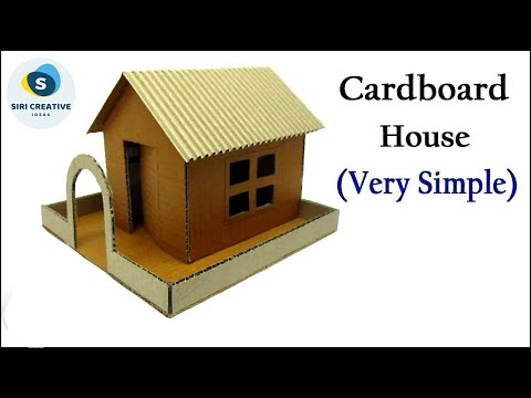cardboard-house-very-simple-|-how-to-make-a-house-out-of-cardboard-|-diy-cardboard-house-model