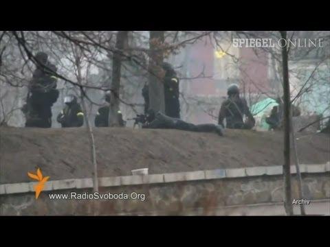 Scharfschützen auf dem Maidan: Heikles Telefonat veröffentlicht