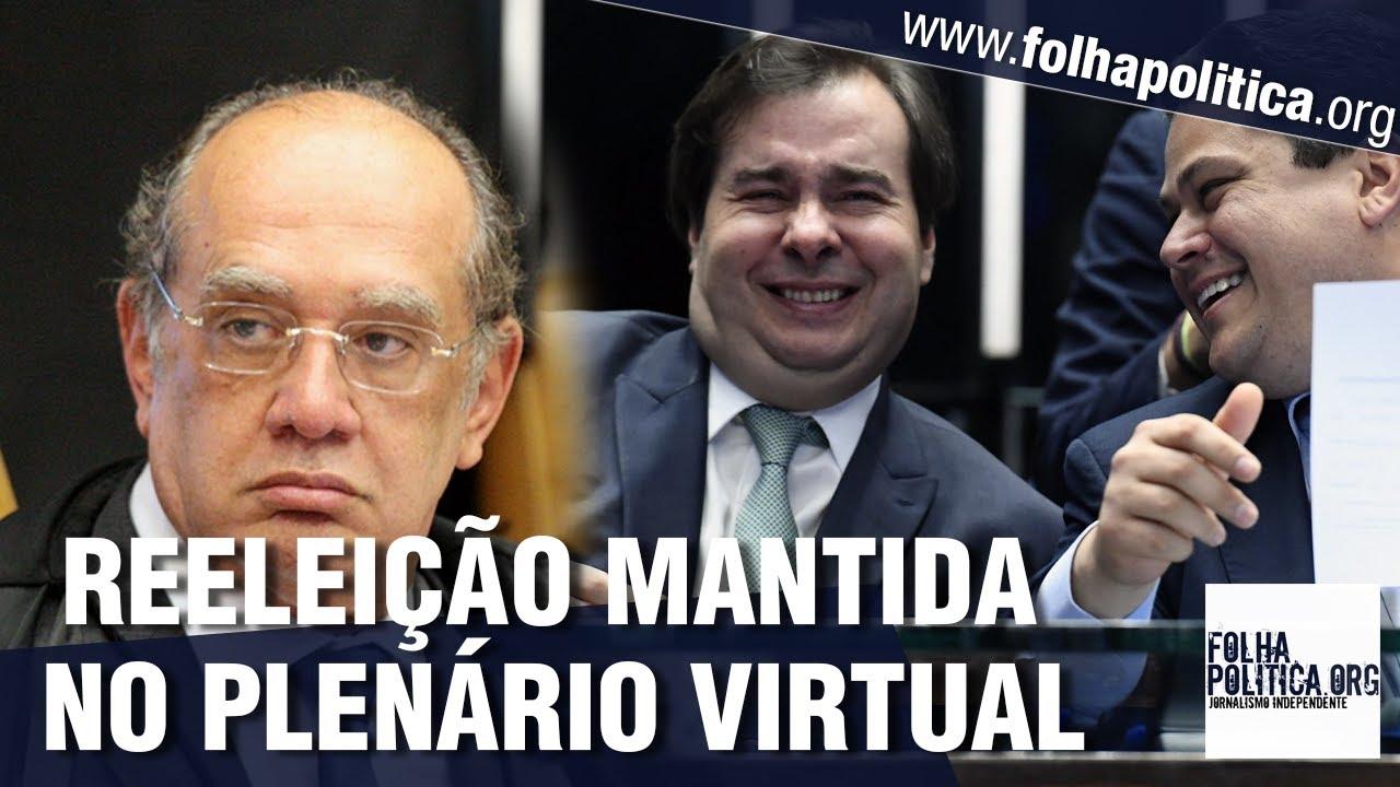 Gilmar Mendes mantém ação sobre reeleição no Plenário Virtual e Roberto Jefferson lamenta:...