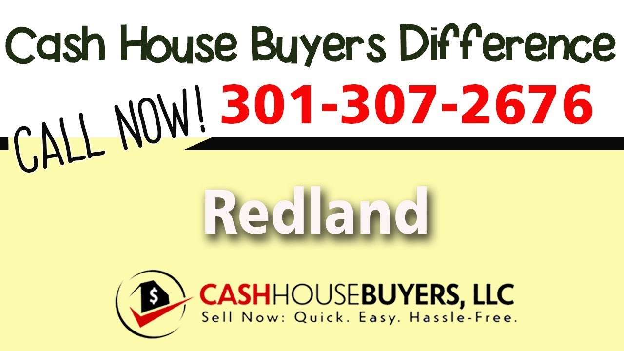 Cash House Buyers Difference in Redland MD | Call 301 307 2676 | We Buy Houses Redland MD