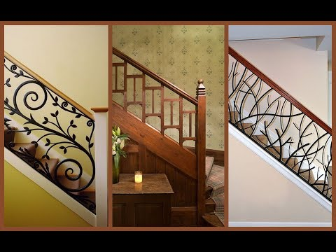 33 Beautiful Modern Railing Designs For Staircase And Balcony Plan N Design Youtube