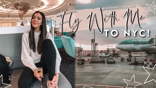 Travel With Me To New York For Christmas 2019 | Checking In To The Intercontinental Barclay