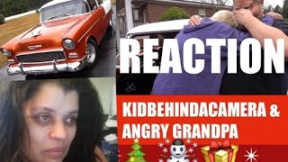 REACTION TO ANGRY GRANDPA'S DREAM CAR