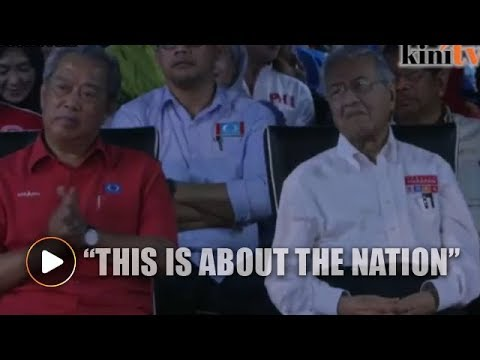Muhyiddin dares, he gave it all up for the people - Mahathir tells Pagoh