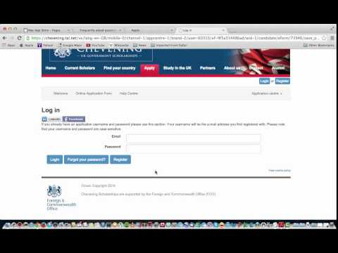 How to apply for Chevening Scholarship (Arabic Language).كيفية التقديم لمنحة تشيفيننج
