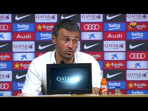 Luis Enrique: 'We had no doubt goal would come'