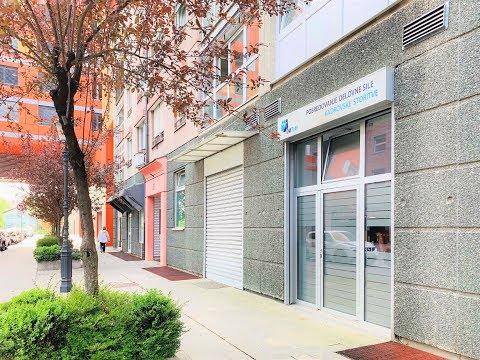 Multipurpose commercial premises in Ljubljana, Bezhigrad district.