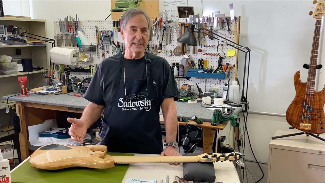 Roger Sadowsky Bass Setup Video