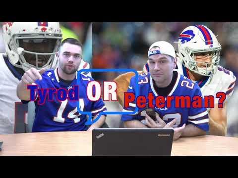 Buffalo Bills Highlights, Preseason Game Against the Ravens.  Tyrod Taylor or Nathan Peterman?