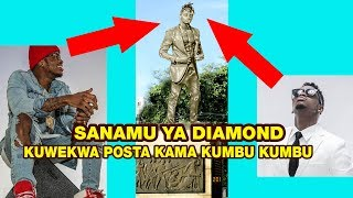 SANAMU YA DIAMOND kuwekwa POSTA mbunge ashauri iwe njia ya kuwahamasisha  kizazi kipya cha mziki