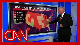 US adds more than 900k coronavirus infections in just 2 weeks