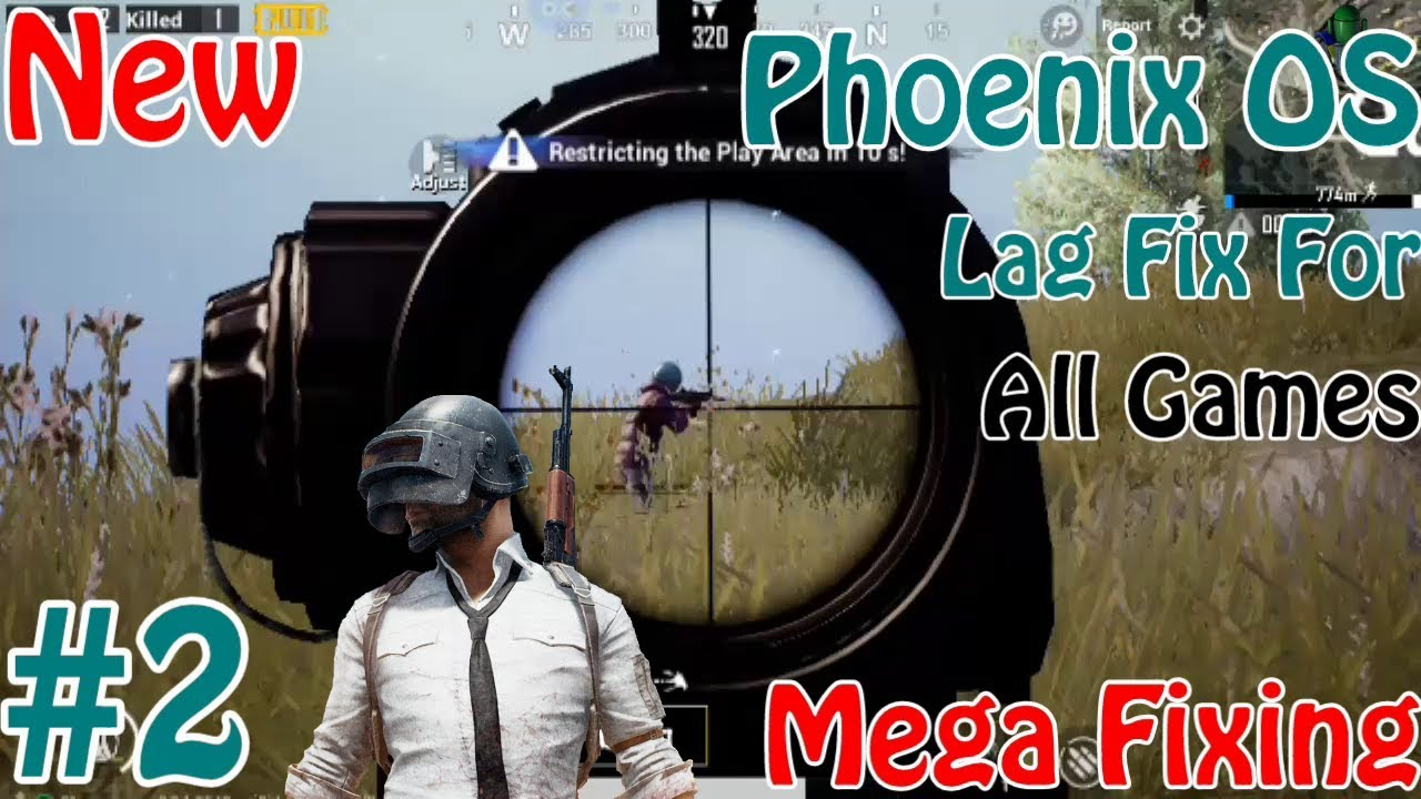 Phoenix OS PUBG Mobile Lag / Glitch / Bug Mega Fixing Tutorial Increase Performance for All Games