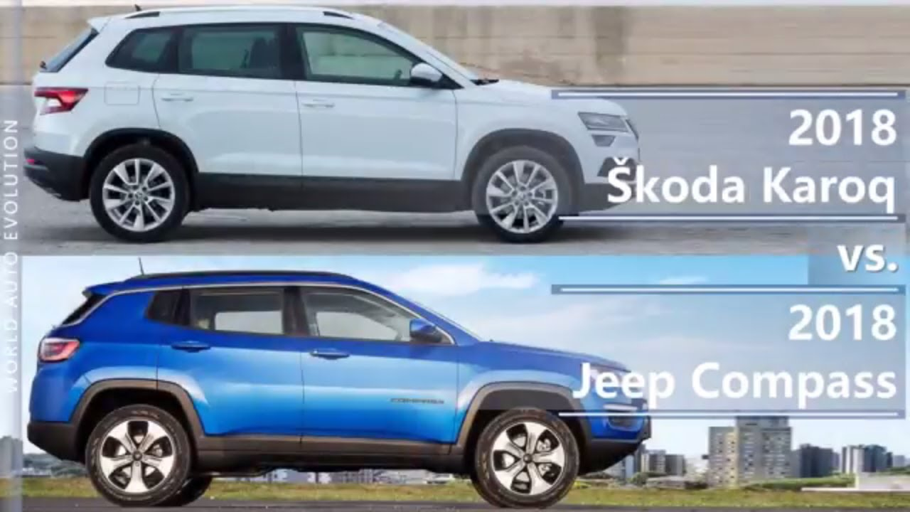 בנפט 2018 Skoda Karoq vs 2018 Jeep Compass (technical comparison) - YouTube AU-13