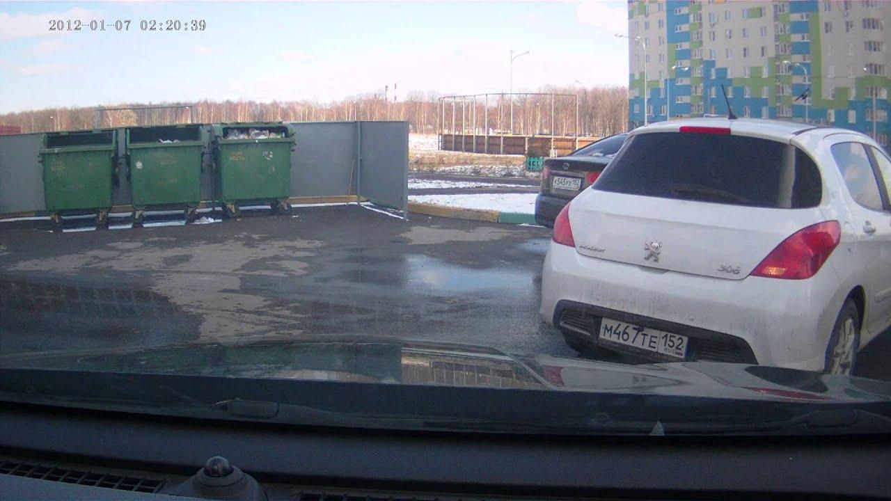 ДТП Нижний Новгород 26.12.2016  ул.Торфяная