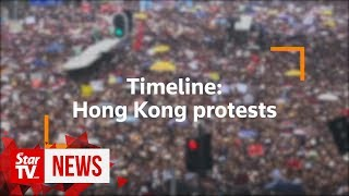 Timeline: Key dates in Hong Kong's protests