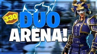 DUO CHAMPIONS ARENA (300+) FT. / FRIZZYFN / FORTNITE BATTLE ROYALE NEDERLANDS!