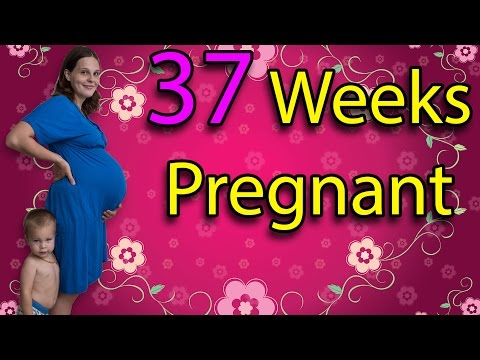 37 WEEKS PREGNANT- KEEPING MY PEACE, EVENING PRIMROSE OIL & GETTING READY + BELLY SHOT