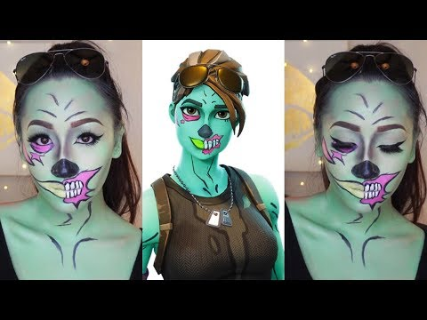 FORTNITE GHOUL TROOPER | HALLOWEEN 2018 | Using ONLY Drugstore Products thumbnail