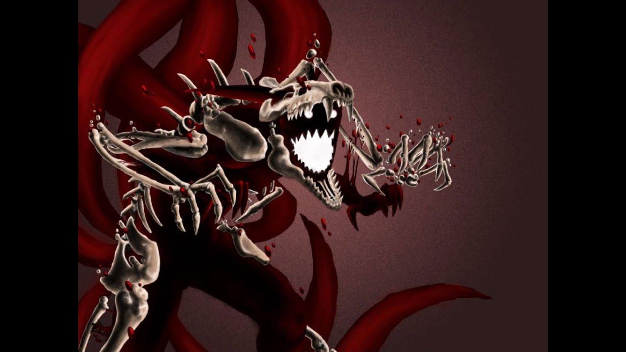 naruto shippudennaruto nine tails cloak unleashed vs pain