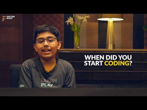 12- year-old Youngest IBM Programmer dreams in code