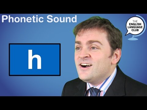 The /h/ Sound