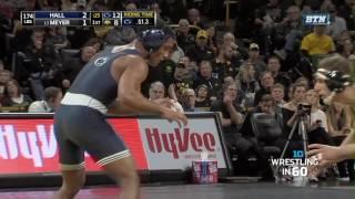 Wrestling in 60: 174 Pounds - Hall vs. Meyer