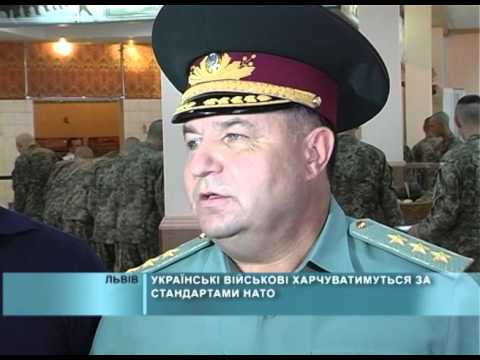 Українські військові харчуватимуться за стандартами НАТО