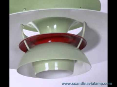 ph5 ph50 pendant lamp poul henningsen youtube. Black Bedroom Furniture Sets. Home Design Ideas