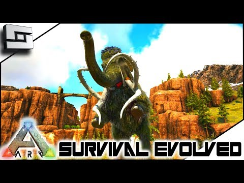 Taming a Mammoth! ARK: Survival Evolved E4 ( Ark Ragnarok Map )