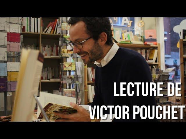 Rencontre et Lecture avec Victor Pouchet auteur aux éditions Finitude