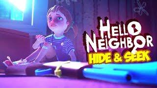 HELLO NEIGHBOR: HIDE & SEEK #04 - Unsere kleine Familie.. ● Let's Play Hello Neighbor