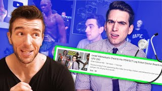 """THIS DOCTOR IS WRONG ABOUT GYNO - Reacting To """"Doctor Reacts to UFC 253"""""""