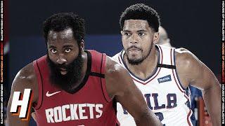 Philadelphia 76ers vs Houston Rockets - Full Game Highlights | August 14, 2020 | 2019-20 NBA Season