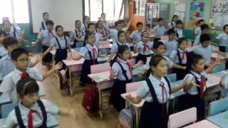 Khăn quàng thắm mãi vai em _ Lớp 4/1 - NH 2016- 2017