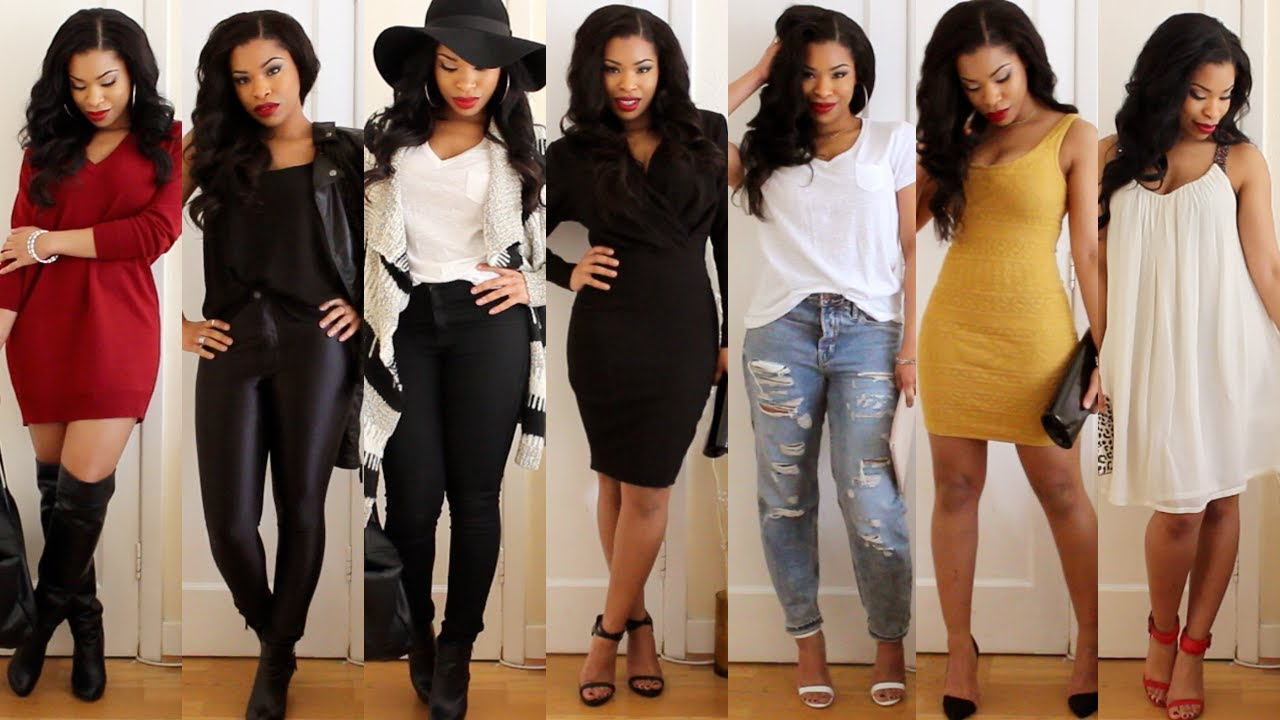 9 Date Outfits Valentine S Day Lookbook Style Youtube