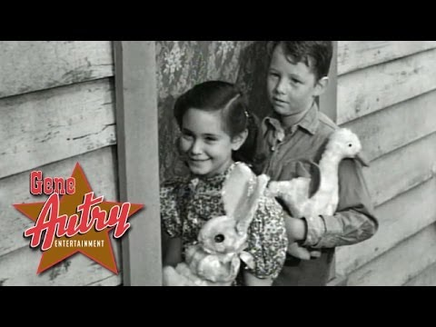 Gene Autry - Peter Cottontail (from Hills of Utah 1951)