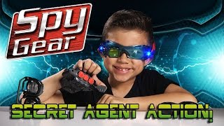 SPY GEAR Mission Extreme Kit with DART BLASTER & NIGHT GOGGLES! [EvanTubeHD CLASSIC](Free product and paid support provided by Spin Master More SPY GEAR ACTION: https://youtu.be/r0H8hfFg06w Also from Spin Master Toys: AIR HOGS ..., 2016-03-26T16:44:03.000Z)