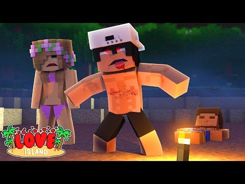 TRYING TO SAVE LITTLE KELLY FOR THE MURDERING KILLER ROBOTS - MINECRAFT LOVE ISLAND