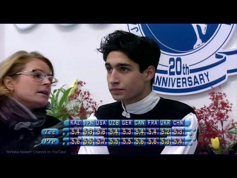 [HD] Emanuel Sandhu - 1998 NHK Trophy - Free Skating