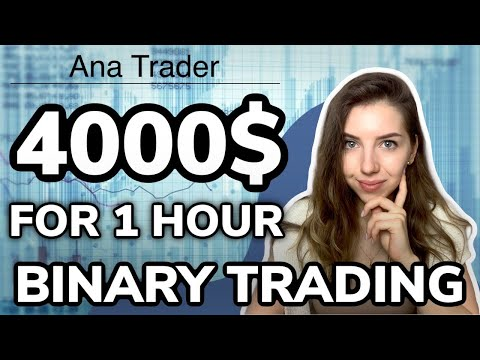 Binary options trading strategy | 4000$ for 1 hour