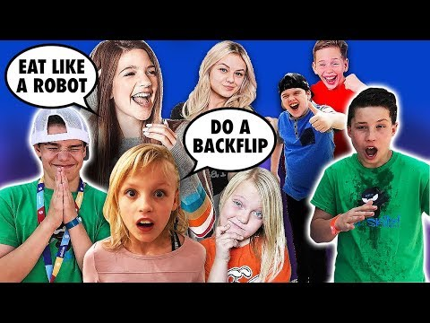 Famous YouTubers Control Bryton and Ethan for 24 Hours - Ninja Kids