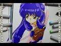 Cómo Dibujar a Shampoo How To Draw Ranma 1/2 Speed Draw Español | CarlosNaranjoTV