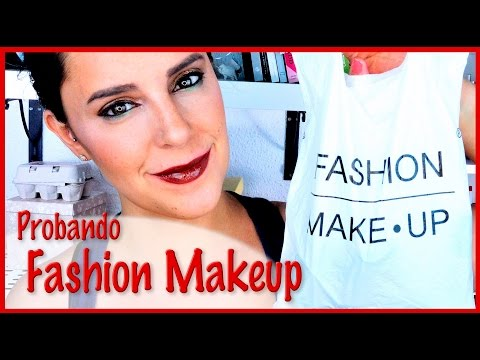 Probando Productos Low Cost De Fashion Makeup | Silvia Quiros Makeup