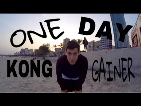 KONG GAINER DAY - ALMOST TUTORIAL!!