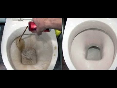 This Is The Best Way To REMOVE SCALE FROM THE TOILET!