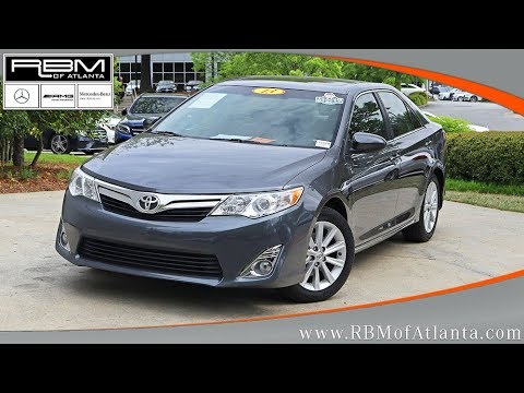 Used 2013 Toyota Camry XLE ATLANTA, GA L6190PA SOLD!