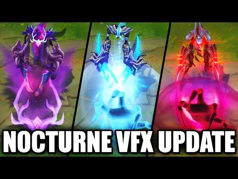 All Nocturne Skins VFX Update 2020 (League of Legends)